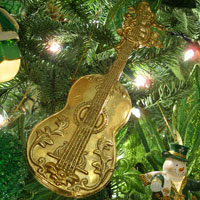 music instrument ornament - cello