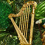 Music Instrument Harp Ornament