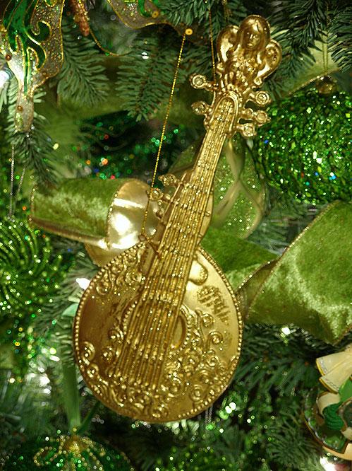 Musical Instrument Christmas Tree Decorations Music Instrument Ornament String Unknown
