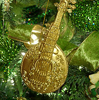 Music instrument ornament