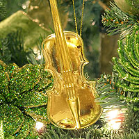 Music Instrument Ornament - Violin