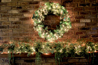 green mantel theme