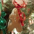 Gingerbread Man - Christmas tree candy ornament