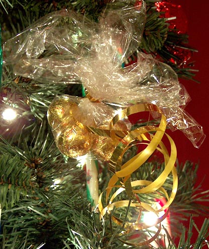 candy ornament chocolates wrapped in plastic wrap - What Is A Hard Candy Christmas