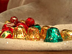 chocolates on tree skirt