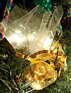 Candy Ornament - chocolates wrapped in tulle